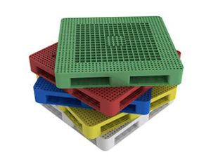 stack of pallets returnable container management