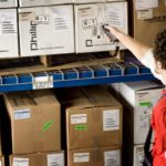 barcode data collection warehouse management system inventory