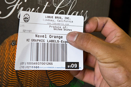 integrated labels barcode