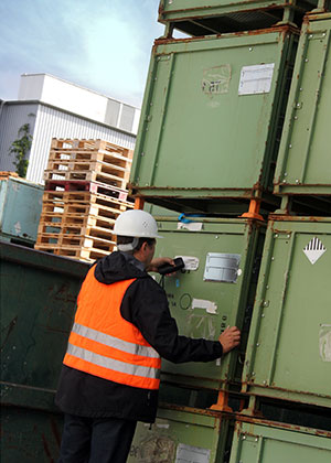 rti returnable containers barcode tracking