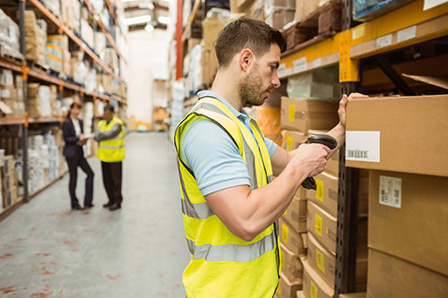 barcodes for inventory management in the warehouse